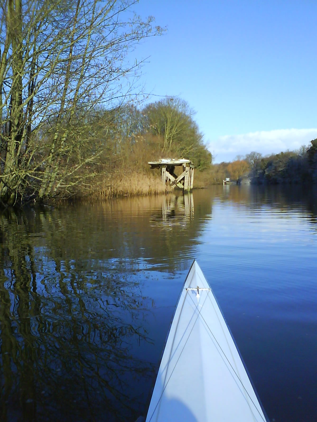 Rowing on The River Yare