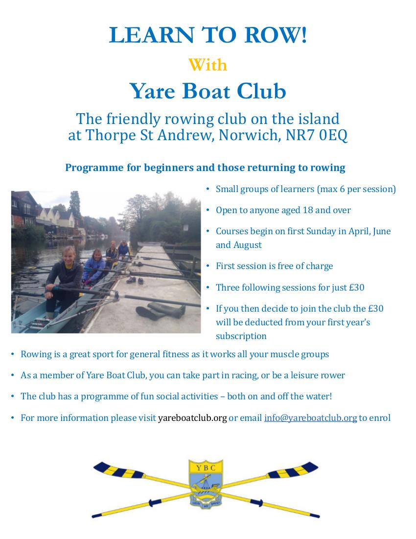 2017 YBC learn to row